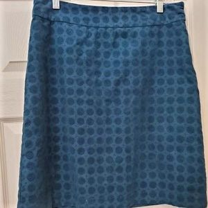 White Stuff Emerald Green Cord A-line Skirt size 8